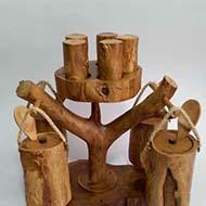 صنایع دستی چوبی و هنری خیلی زیبا مناسب دکوری