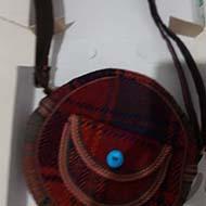 کیف دست ساز یک طرفه آکبند