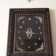 ساعت دست ساز پوستین دوزی شده
