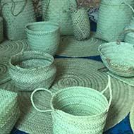 انواع سبد و گلدان دست ساز
