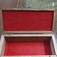 جعبه چوبی دست ساز
