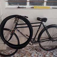 دوچرخه کلکسیونی بسیار قدیمی