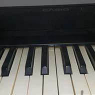 پیانو ارگ کاسیو قدیمی مدل سی پی اس۲۰۰۰ کلکسیونی